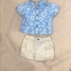 Baby boy shorts outfit